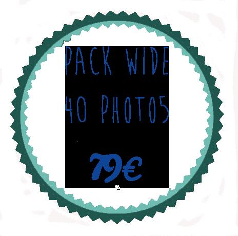 vignette Pack wide 40 photos 79€