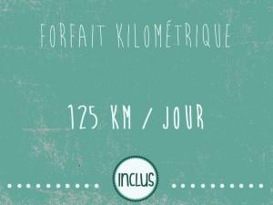 Forfait Kilométrique 125km